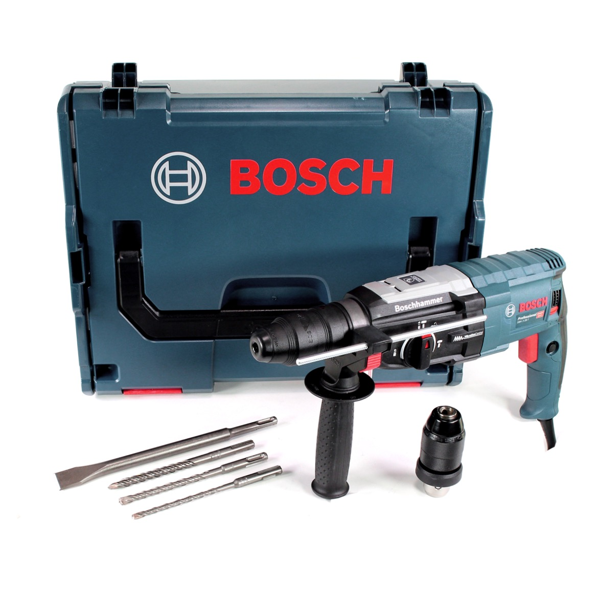 bosch bohrhammer gbh 2 28 f sds plus in l boxx bohrfutter mei el bohrer ebay. Black Bedroom Furniture Sets. Home Design Ideas