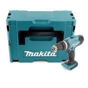 Makita DHP 453 ZJ Akku Schlagbohrschrauber 18V 42Nm im Makpac ohne Akku, ohne Ladegerät