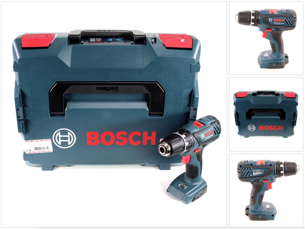 bosch professional gsr 18 2 li plus 18v li ion akku bohrschrauber solo l boxx ebay. Black Bedroom Furniture Sets. Home Design Ideas