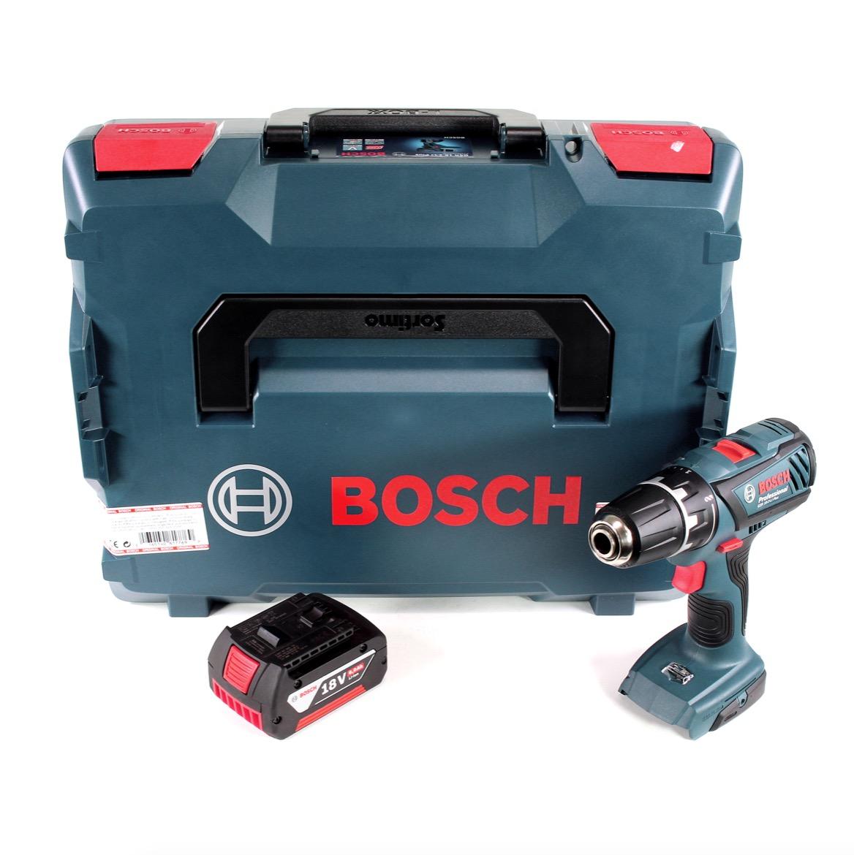 bosch professional gsr 18 2 li plus bohrschrauber in l boxx 1x 6 0 ah akku 4250559936695 ebay. Black Bedroom Furniture Sets. Home Design Ideas