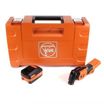 FEIN AFSC 18 QSL Oscillante sans fil Select SuperCut Construction Brushless 18 V Starlock en Coffret + 1x Batterie 5,0 Ah - sans Chargeur ( MultiMaster ) – Bild 2