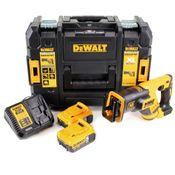 DeWalt DCS 367 P2 Akku Reciprosäge Säbelsäge 18V Brushless + 2x Akku 5,0Ah + Ladegerät + TSTAK