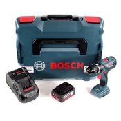 "Bosch GSR 18V-28 Akku Bohrschrauber 18V 1/2"" 28Nm 13mm in L-Boxx + 1x 5,0 Ah Akku + Ladegerät"