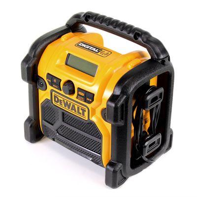 DeWalt DCR 020 DAB+ XR Li-Ion Radio de chantier à Batterie ou Secteur – Bild 2