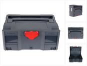 Tanos systainer® T-Loc II anthrazit stapelbar Transportkiste Koffer Koffersystem aus ABS Kunststoff ( 80550019 )