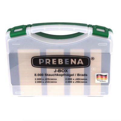 Prebena 2XR-J50 Cloueur pneumatique pour pointes avec Coffret de transport + J-BOX 8.000 Pointes – Bild 4