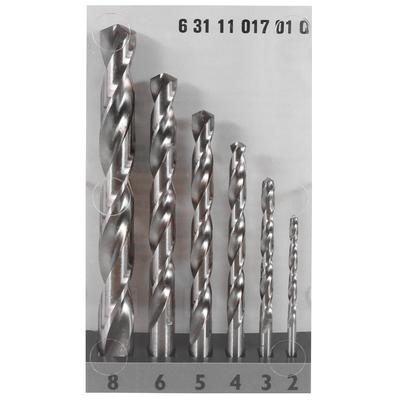 FEIN HSS Spiralbohrer Set Cobalt 5% 2-8 mm 6-teilig ( 63111017010 )  – Bild 3
