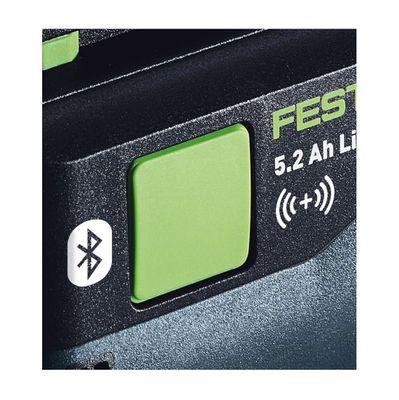 Festool BP 18 V 5,2 Ah ASI Akkupack ( 202479 ) 18 Volt 5,2 Ah Bluetooth Akku koppelbar  – Bild 3