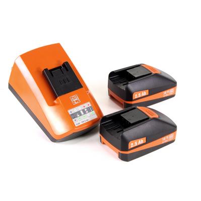 FEIN ABLS 18 1.6 E Cisaille à tôle sans fil jusqu'à 1,6 mm d'épaisseur dans un Coffret + 2x Batteries  2 ,5 Ah + Chargeur – Bild 5
