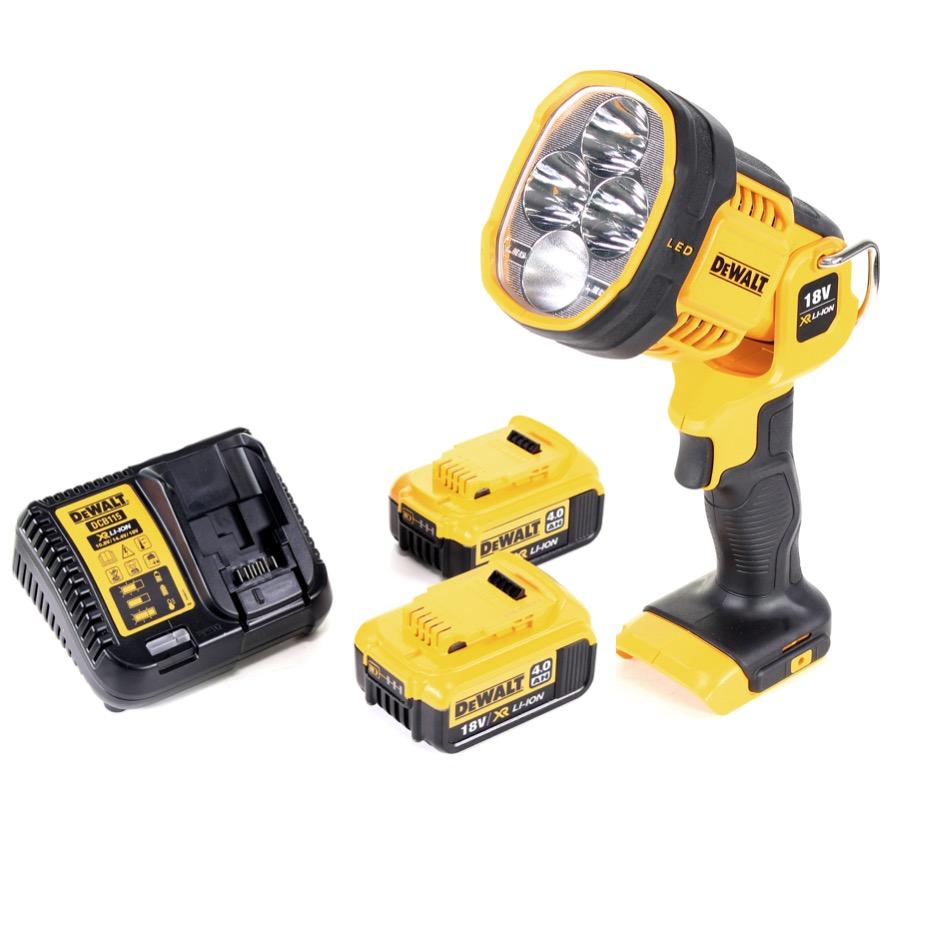 Dcl 4 Batteries Ion 18v Lampe Led Ah Dewalt Xr Sans Chargeur Torche 0 043 Fil2x Li qUzpVSM
