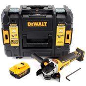 DeWalt DCG 405 18 V 125 mm Meuleuse sans fil Brushless avec boîtier TStak + 1x Batterie 4,0 Ah - sans chargeur