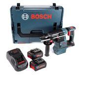 Bosch GBH 18 V-26 Akku Bohrhammer Professional SDS-Plus in L-Boxx + 2x GBA 18 V 7,0 Ah ProCORE Akku + GAL 1880 Ladegerät
