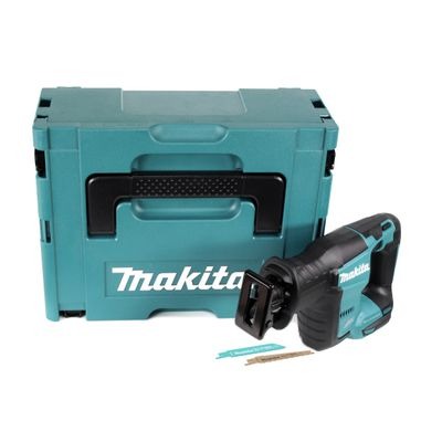 Makita DJR 188 ZJ 18 V Brushless Li-ion Akku Recipro Säbelsäge Solo im Makpac - ohne Zubehör, ohne Akku, ohne Ladegerät – Bild 2