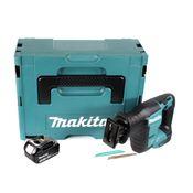Makita DJR 188 F1J Akku Reciprosäge 18 V Brushless Säbelsäge im Makpac + 1x Makita 3,0 Ah Akku - ohne Ladegerät