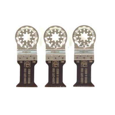 FEIN Long-Life E-Cut Starlock Sägeblatt 35 mm 3 Stk.  ( 63502160220 ) BI-Metall – Bild 5