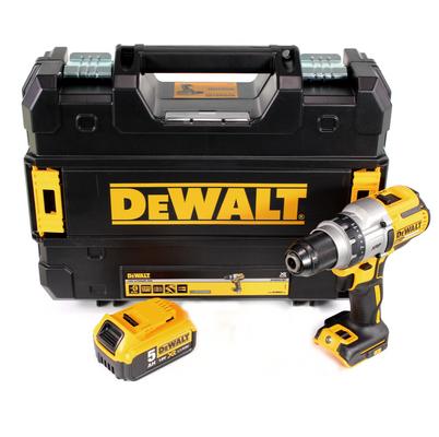 DeWalt DCD 991 18 V Brushless Li-Ion Akku-Dreigang-Bohrschrauber im TSTAK II Koffer + 1x DCB 184 5,0 Ah Akku - ohne Ladegerät – Bild 2