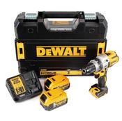DeWalt DCD 991 P2  Akku-Dreigang-Bohrschrauber 18V 95Nm Brushless + 2x Akku 5,0Ah + Schnellladegerät + TSTAK