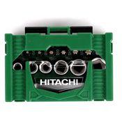 Hitachi 24 tlg. Bit & Stecknüsse Set inkl. Mini-Ratsche in Bitbox ( 40030020 ) Bild 3
