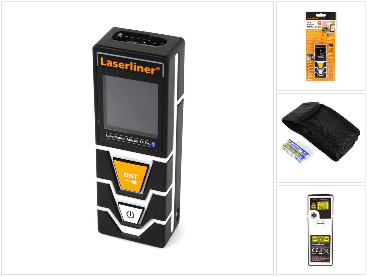 Bosch Laser Entfernungsmesser Neigungssensor : Laserliner laserrange master t4 pro laser entfernungsmesser