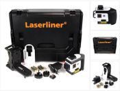Laserliner PowerPlane-Laser 3D Plus GEN2 360° roter Kreuzlinienlaser in Sortimo Systemkoffer mit Einlagen ( 036.302L )