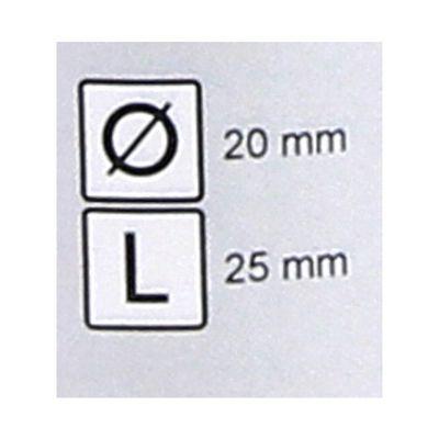 FEIN HSS Dura 25 Fraise avec emmanchement Weldon 20 x 25 mm ( 63134200075 ) – Bild 4
