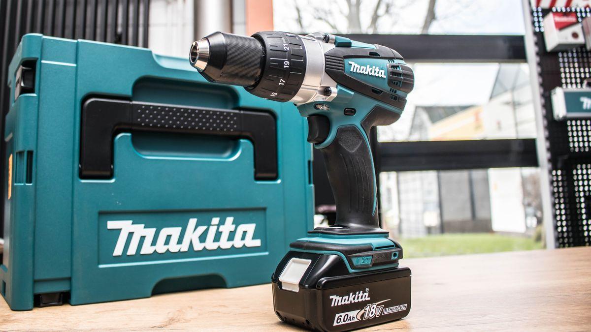 Schlagbohren für Profis und Heimwerker mit der Makita DHP 458 – Bild 1