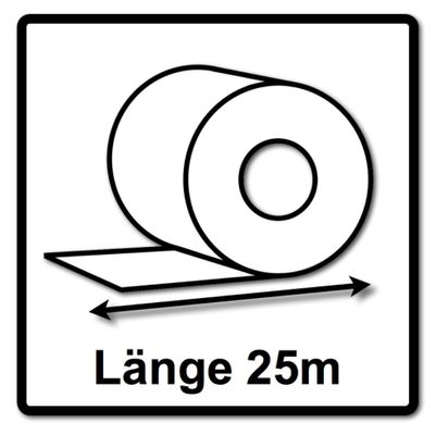 Festool Abrasif en rouleau 115 x 25 m P220 GR Granat ( 201110 )  – Bild 3