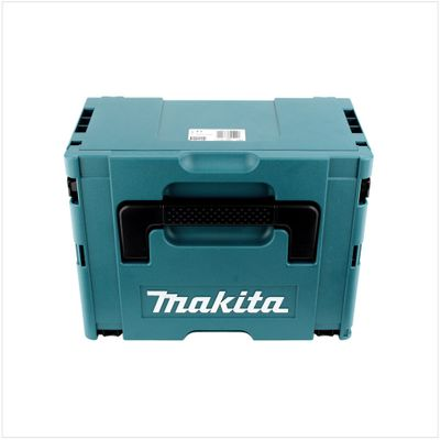 Makita DHR 202 RTJ 18 V Li-ion Perforateur-Burineur sans fil SDS-Plus avec Boîtier Makpac + 2x Batteries BL 1850 5,0 Ah + Chargeur rapide DC 18 RC + 1x 5 Burins large SDS-Plus – Bild 4