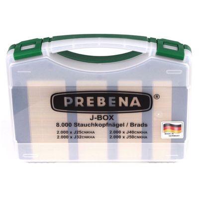 Prebena Komplettpaket 2P-J50SDS Druckluftnagler + Druckluftschlauch 10m + Kompressor VITAS 45 + J-BOX 8.000 Heftklammern – Bild 4