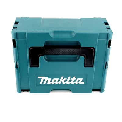 Makita DGA 458 RTJ 18 V Li-Ion Akku Winkelschleifer 115 mm Brushless + 2x BL 1850 B 5,0 Ah Akku + DC 18 RC Schnellladegerät – Bild 4