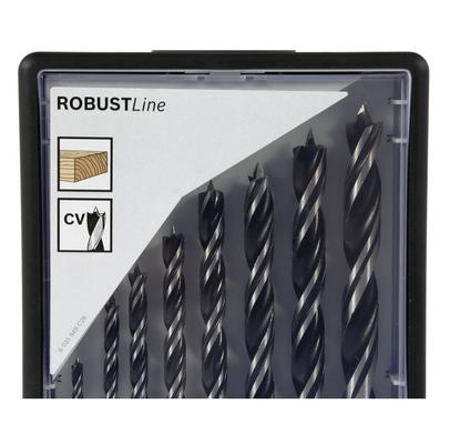 Bosch Mèches hélicoïdales à bois Robust Line Set de 8 pièces de 3 à 10 mm ( 2607010533 ) – Bild 3