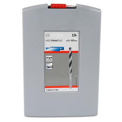 Bosch HSS Spiralbohrer Set Box PointTeQ 19 tlg. 1 - 10 mm Metallbohrer ( 2608577351 ) – Bild 4