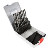 Bosch HSS Forets hélicoïdale à métaux rectifiés 19 forets pour métaux de 1 à 1a mm ( 2608577351 )