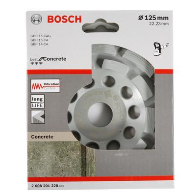 Bosch Diamant Topfscheibe Best for Concrete 125 x 22,23 x 4,5 mm ( 2608201228 ) – Bild 3