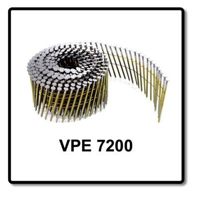 Prebena CNW25/65BKRI Lot de 7200 pièces de clous sur rouleaux – Bild 5
