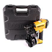 Bostitch RN46K-2-E Druckluft Dachpappnagler im Koffer Einzelauslösung Coilnagler für CR 19 - 45 mm