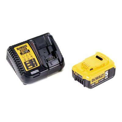 Dewalt DCS 570 P1 18 V Brushless Akku Hand Kreissäge in TSTAK Box + 1x 5,0 Ah Akku + Ladegerät – Bild 5
