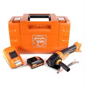 FEIN CCG 18-125 BLPD C Akku Winkelschleifer 125 mm im Koffer + 1 x 2,5 Ah Akku + Universal Schnellladegerät
