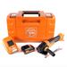 FEIN CCG 18-125 BLPD C Akku Winkelschleifer 125 mm im Koffer + 1 x 2,5 Ah Akku + Universal Schnellladegerät – Bild 2