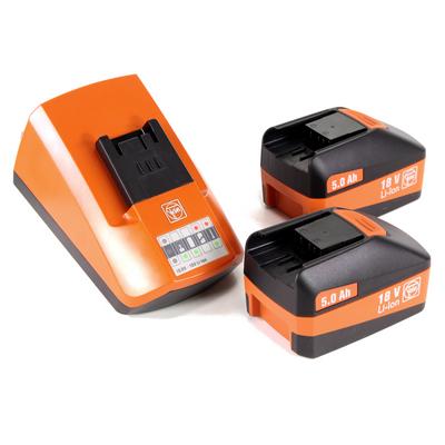FEIN CCG 18-125 BLPD Akku Winkelschleifer 125 mm im Koffer + 2 x 5,0 Ah Akku + Universal Schnellladegerät – Bild 5