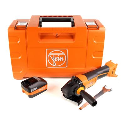 FEIN CCG 18-125 BLPD Meuleuse d'angle sans fil 125 mm avec Coffret + 1x Batterie 5,2 Ah High Power - sans Chargeur – Bild 2