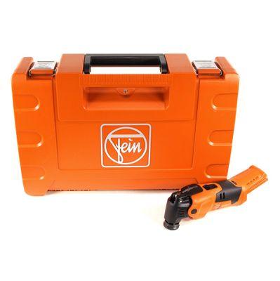 FEIN AFMM 18 QSL Select 18 V Li-Ion Akku Oszillierer MultiMaster im Koffer - ohne Zubehör ( 71292262000 ) – Bild 2