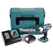 Makita DTP 141 RT1J Akku Quadroschrauber 18V 150Nm Brushless + 1x Akku 5,0Ah + Ladegerät + Makpac