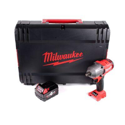 Milwaukee M18 FMTIWF12-401X 18 V Brushless Li-Ion Boulonneuse a chocs sans fil 610 Nm en Coffret HD + 1x Batterie 4,0 Ah - sans Chargeur – Bild 2