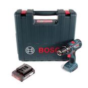 Bosch GSB 18-2-Li Plus Schlagbohrschrauber Professional 18 V im Koffer + 1x GBA 2,0 Ah - ohne Ladegerät