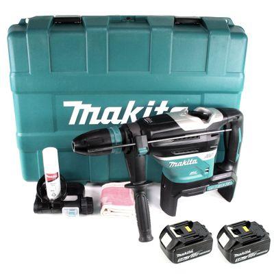 Makita DHR 400 T2U 2 x 18 V / 36 V Li-Ion Perfo-burineur sans fil avec SDS-Max en Coffret + 2x Batteries 5,0 Ah - sans Chargeur – Bild 2