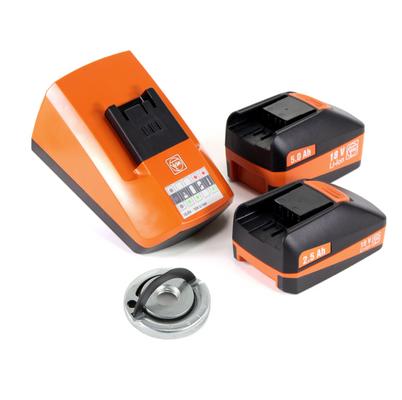 FEIN CCG 18-125 BL Brushless Li-Ion Meuleuse d'angle sans fil 125 mm avec Coffret + 2x Batteries 5,2 Ah HighPower + Chargeur rapide universel + Écrou de serrage rapide M14 Fixtec – Bild 5