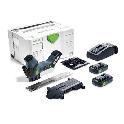 Festool ISC 240 Li 3,1 EB-Compact Akku Dämmstoffsäge 18V ( 575607 ) 240mm im Systainer + 2x 3,1Ah Akku + Ladegerät – Bild 2