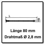 Bostitch Coilnägel Ringschaft Blank 2,80 x 80mm 6000 St. ( F280R80Q ) Bild 3