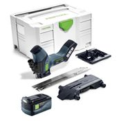 Festool ISC 240 Li 18 V Akku Dämmstoffsäge + 1x BP 18 Li 5,2 As 18V 5,2 Ah Li-Ion Akkupack mit Airstream Technologie